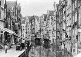 French Photographer - Achterburgwal, Amsterdam, early 20th century