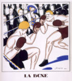 French School - Boxing, from 'Monsieur' 1920
