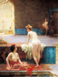 Serkis Diranian - The Turkish Bath, 1896