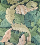 William Morris - 'Acanthus' wallpaper design, 1875