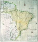 Portuguese School - Map of Brazil, 1749