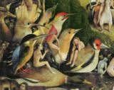 Hieronymus Bosch - Detail of The Garden of Earthly Delights, c.1500