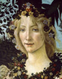 Sandro Botticelli - Detail of Primavera, c.1478,