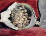 Pierre Auguste Renoir - Bouquet in a theatre box, c.1878-80