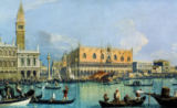 Giovanni Antonio Canaletto - Ducal Palace, Venice, c.1755