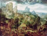 Herri met de Bles - Landscape with Forge / The Coppermine