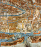 G. Barzenti - Detail of Map of Venice, first half of 17th century