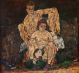 Egon Schiele - The Family, 1918