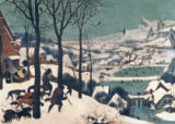 Hunters in the Snow - january, 1565 von Pieter Brueghel der Ältere