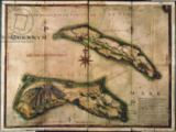 Portuguese School - Geographic Map of the Azores, 1587
