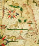 Pietro Giovanni Prunes - The North Coast of Africa, from a nautical atlas, 1651  (detail from 330922)