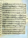 English School - A page from one of the only two copies known to exist of the first printing of Handel's Messiah in London