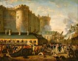 French School - The Taking of the Bastille, 14 July 1789