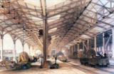 English School - Great Western Railway: Freight shed at Bristol