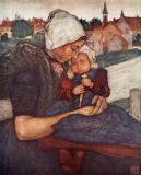 Nico Jungman - A Mother and Child of Axel, 1904