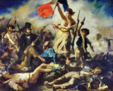 Eugène Delacroix - Liberty Leading the People, 28 July 1830