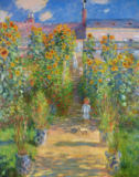 Claude Monet - The Artist's Garden at Vetheuil, 1880