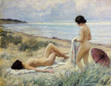 Paul Fischer - Summer on the Beach
