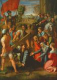 Raphael - The Fall on the Road to Calvary, 1517