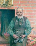 Carl Larsson - Erik Erikson, The Blacksmith