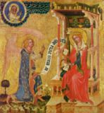 Master of the Cycle of Vyssi Brod - Annunciation, c.1350