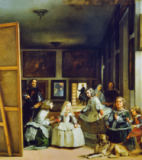Diego Rodriguez de Silva y Velazquez - Las Meninas or The Family of Philip IV, c.1656