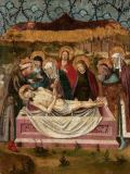 Spanish School - The Entombment of Christ