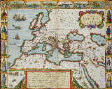 Unbekannt - A Map of the New Roman Empire, c.1610 by John Speed (1552-1629)