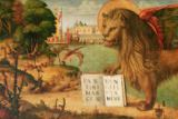 Vittore Carpaccio - Detail of Detail of the Lion of St. Mark, 1516