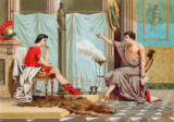 Jose Armet Portanell - Education of Alexander the Great by Aristotle