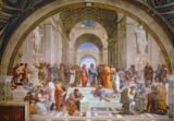 Raphael - School of Athens, from the Stanza della Segnatura, 1510-11