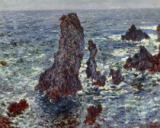 Claude Monet - The Rocks at Belle Ile, 1886