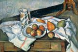 Paul Cézanne - Still Life of Peaches and Pears, 1888-90