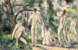 Paul Cézanne - Study of Bathers, c.1895-98