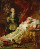 Gyula Benczur - King Louis XV in the boudoir of Madame Dubarry