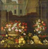 Balthasar van der Ast - Still Life with Flowers, Fruits and Shells
