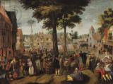 Maerten van Cleve - The Flemish Fair