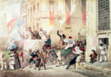 Richard Buckner - Circus Procession in Italy, 1830