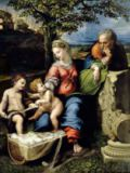 Raphael - The Holy Family of the Oak Tree, c.1518