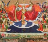 Enguerrand Quarton - The Coronation of the Virgin, completed 1453