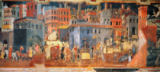 Ambrogio Lorenzetti - Good Government in the City,1338-40