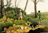 Henry Thomas Alken - 'Pheasant Shooting', pub. by Thomas McLean, 1820