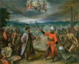 Hans von Aachen - Allegory of the Turkish Wars: The Declaration of War at Constantinople, 1603-4