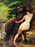 Gustave Courbet - The Source or Bather at the Source, 1868