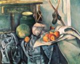 Paul Cézanne - Still Life with Pitcher and Aubergines