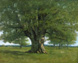 Gustave Courbet - The Oak of Flagey, called Vercingetorix