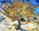 Vincent van Gogh - Mulberry Tree, 1889