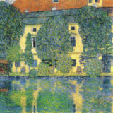 Gustav Klimt - The Schloss Kammer on the Attersee, 1910