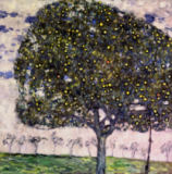 Gustav Klimt - The Apple Tree, 1916