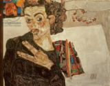 Egon Schiele - Self Portrait, 1911